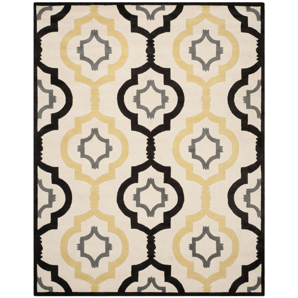 Safavieh Chatham Ivory/Multi 5 ft. x 8 ft. Area Rug-CHT747A-5 -