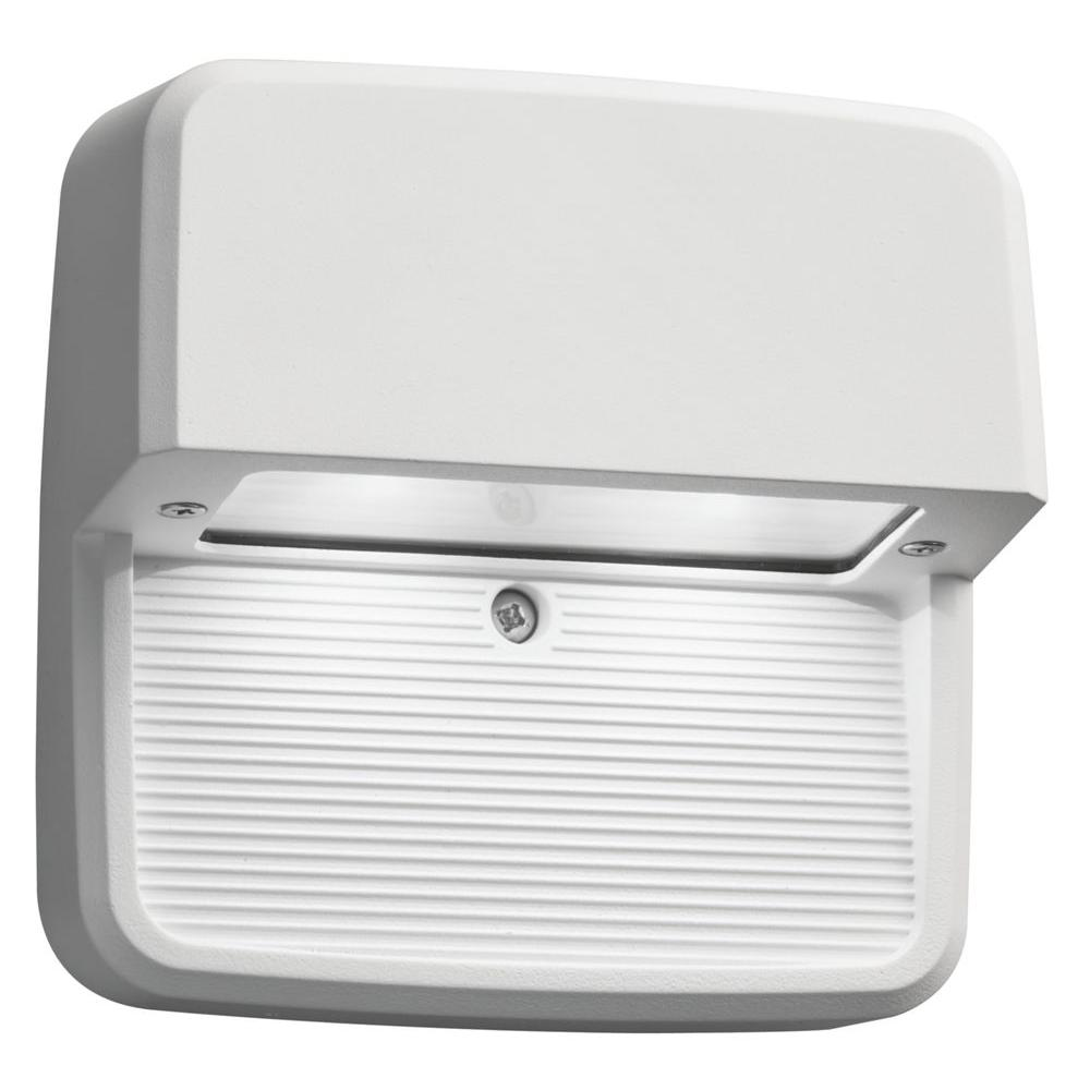 Lithonia Lighting White Integrated LED Square Step and Stair Deck Light