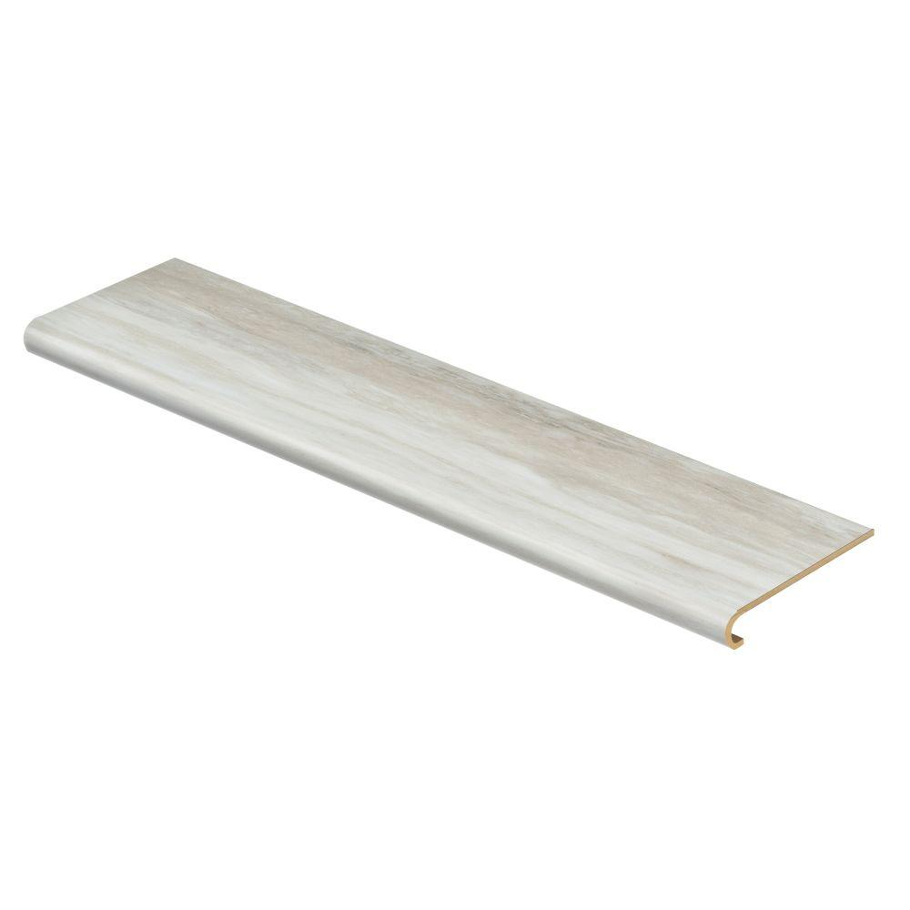 Aegean Travertine White 94 in. Long x 12-1/8 in. Deep x