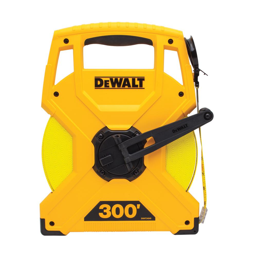 DEWALT 300 ft. Measuring Tape-DWHT34049 - The Home Depot