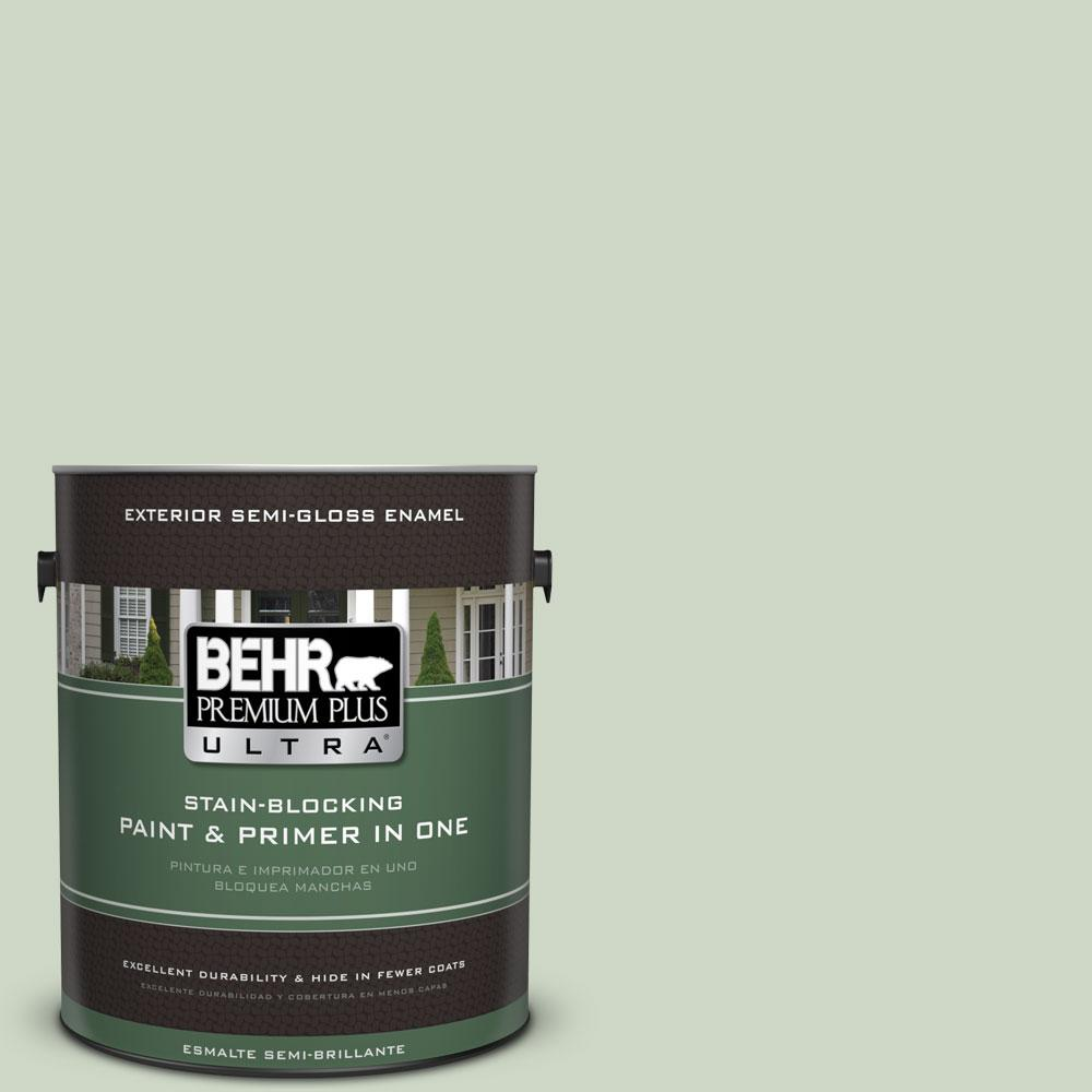 1-gal. #S390-2 Spring Valley Semi-Gloss Enamel Exterior Paint