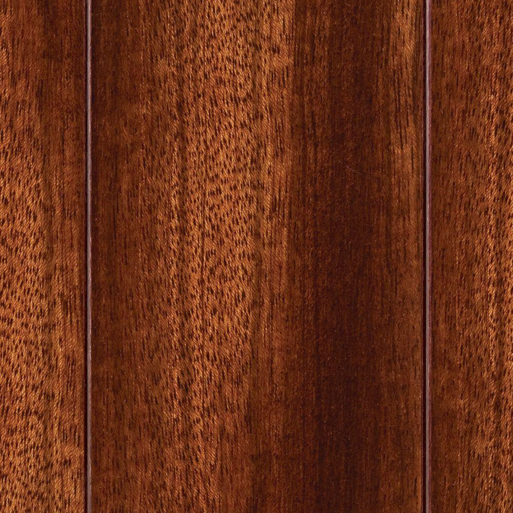 Home Legend Brazilian Cherry 3/8 in. T x 3-5/8 in. W x 47-1/4 in. L Click Lock Exotic Hardwood Flooring (23.96 sq. ft. / case)
