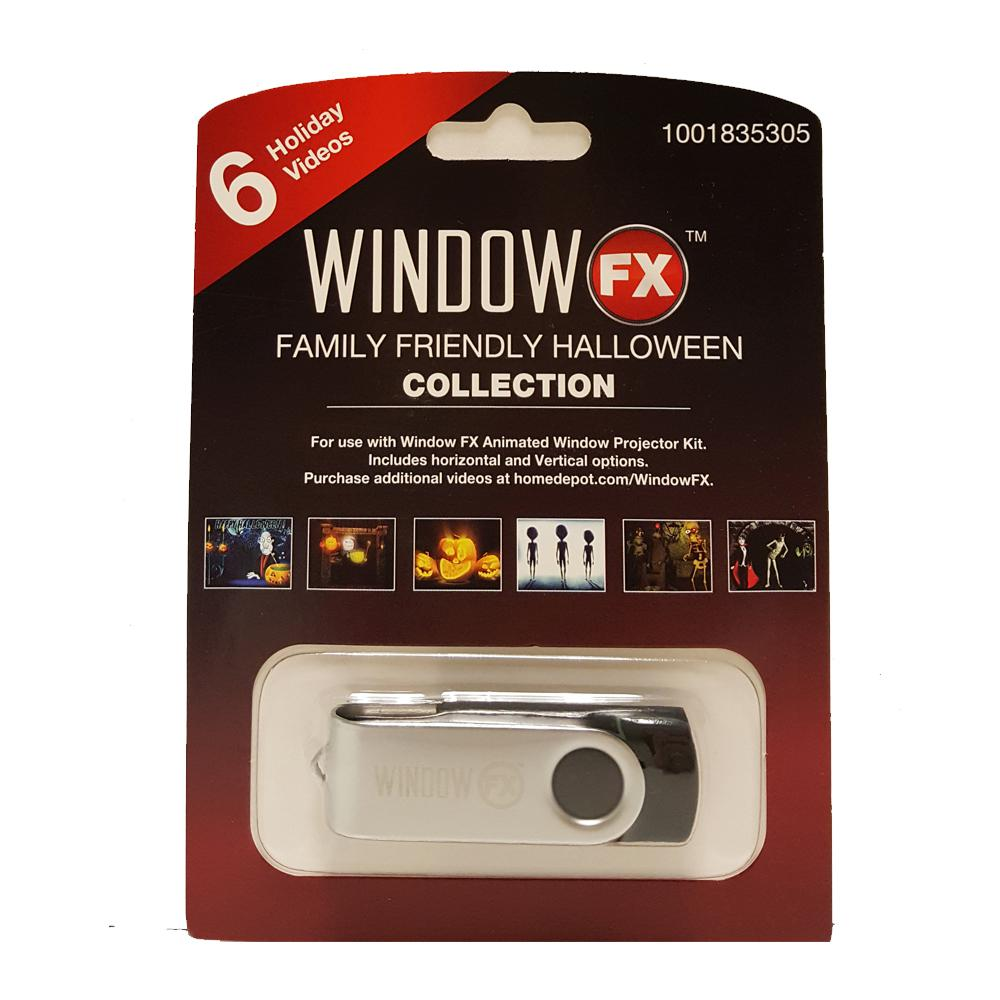 2 in. WindowFX Family JOL USB Collection with 6 Videos-75602 -