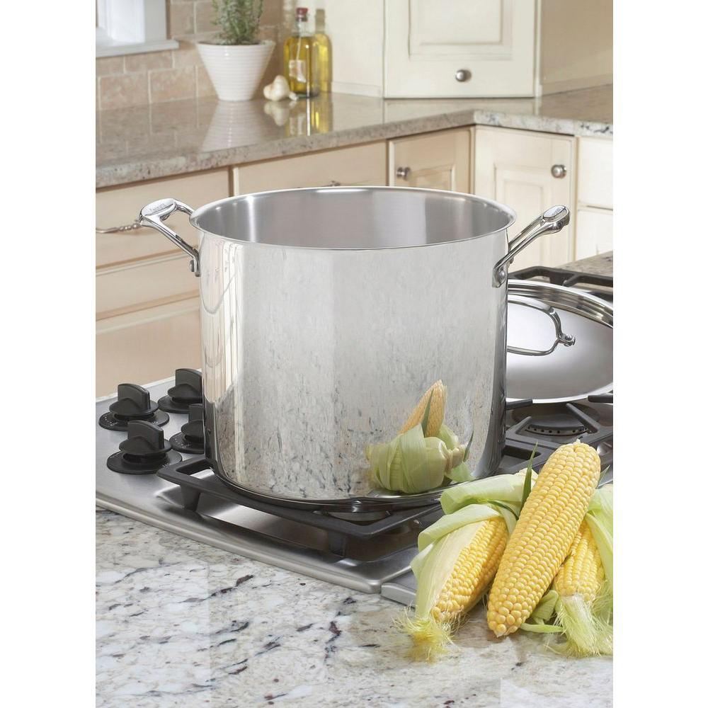 Chef's Classic 12 Qt. Stockpot with Cover in Stainless