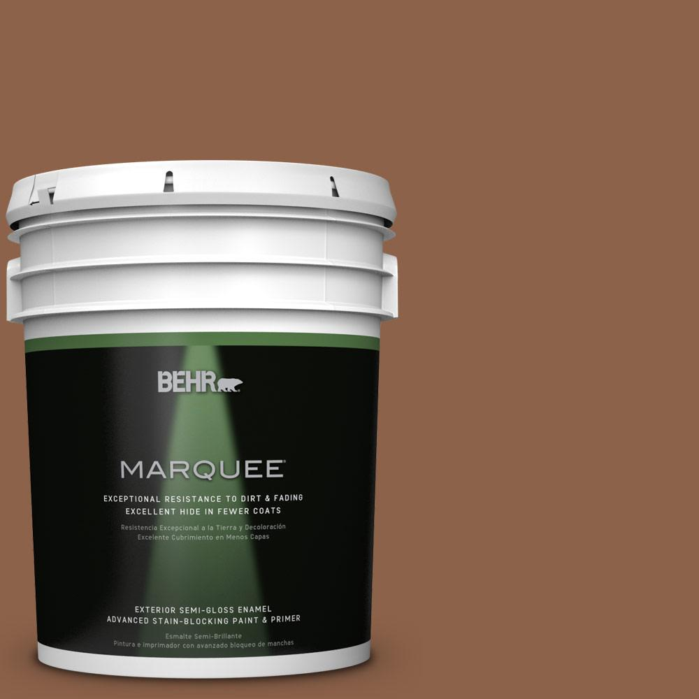 5-gal. #S240-7 Leather Work Semi-Gloss Enamel Exterior Paint