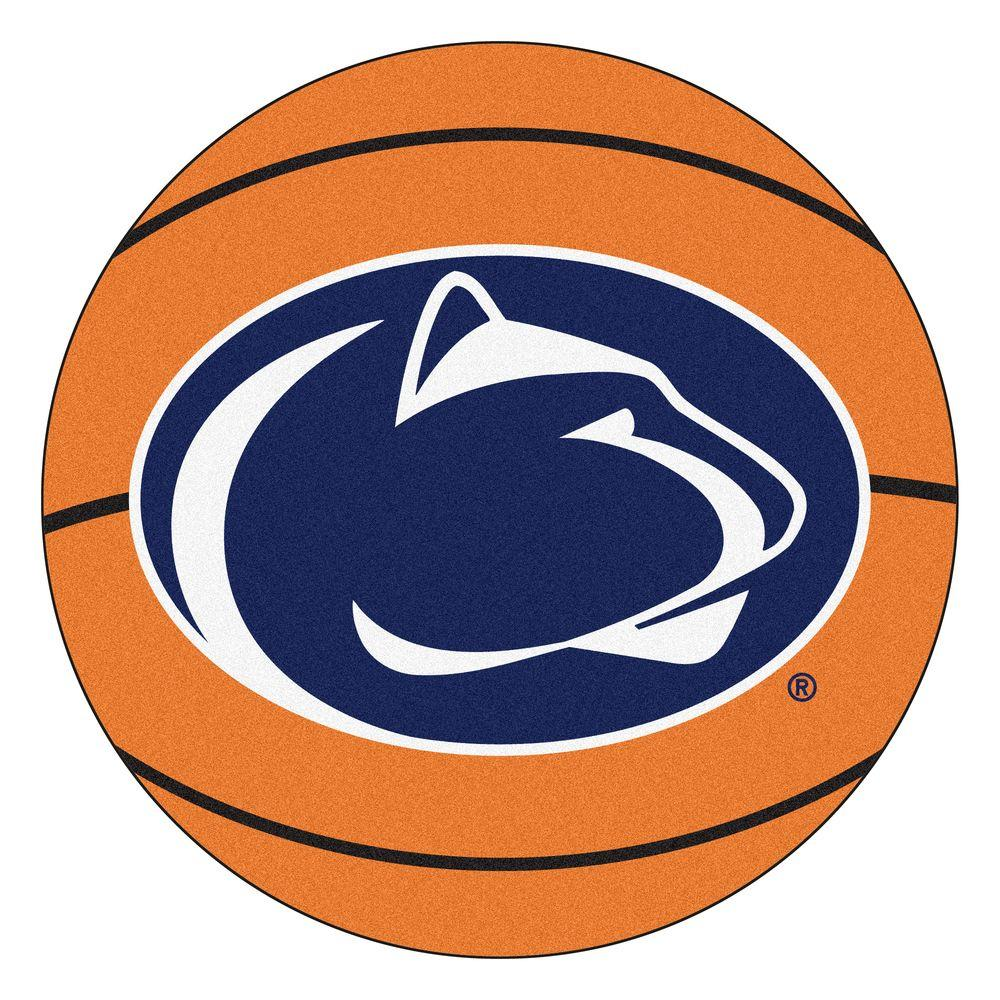 Ncaa Penn State Orange 2 ft. 3 in. x 2 ft. 3 in. Round Accent Rug Sale $23.00 SKU: 206407092 ID: 4233 UPC: 846104042337 :