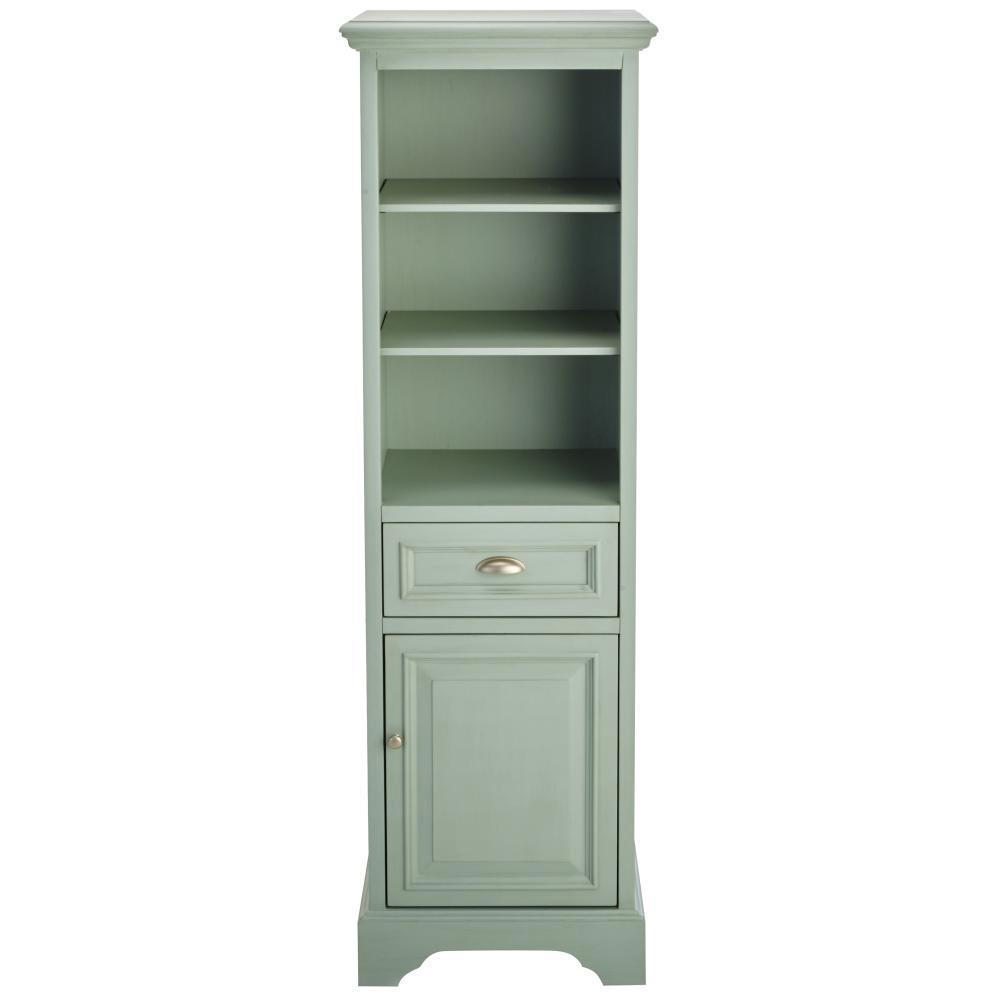 Home Decorators Collection Sadie 20 in. W Linen Cabinet in Antique