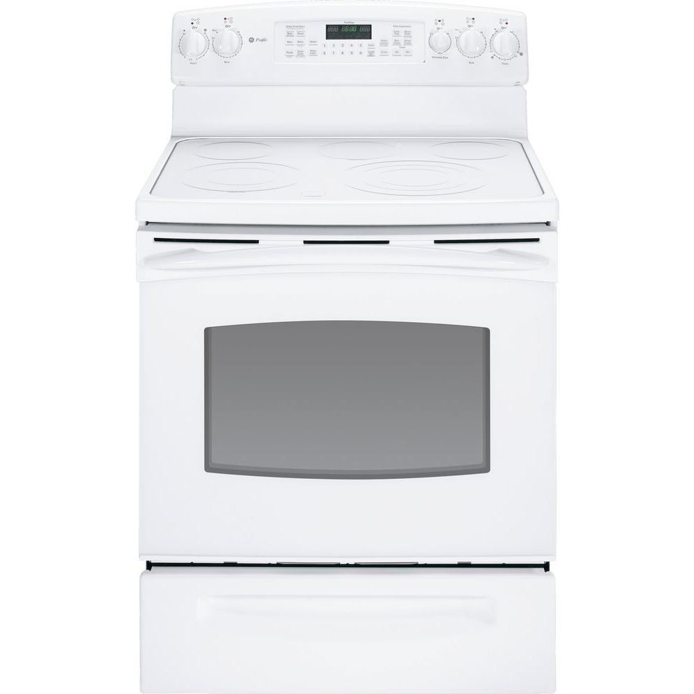 GE Profile 5.3 cu. ft. Electric Range with Self-Cleaning Convection Oven