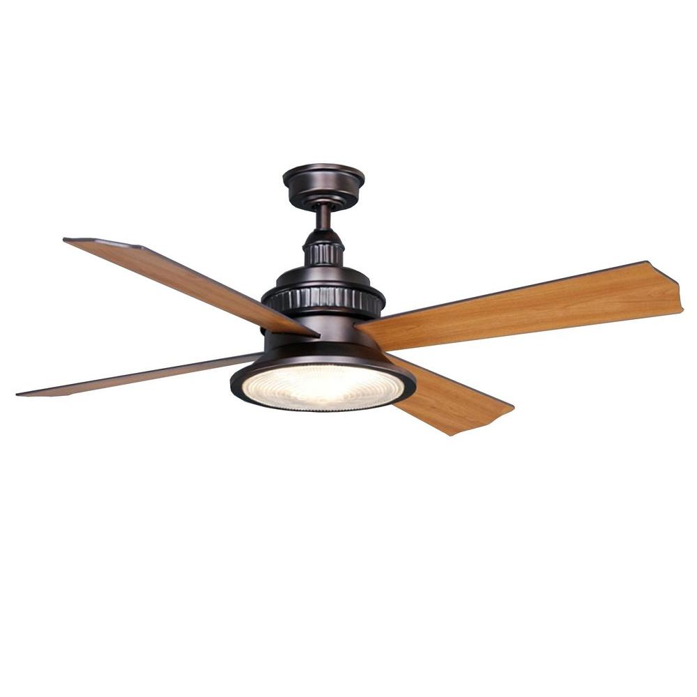 Valle Paraiso 52 in. Oil-Rubbed Bronze Ceiling Fan