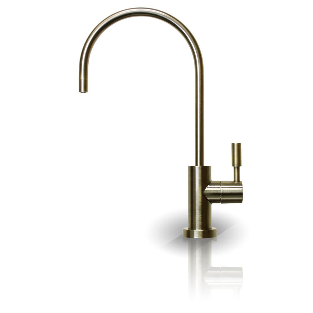 Drinking Water Faucet with Non Air Gap in Antique Brass for