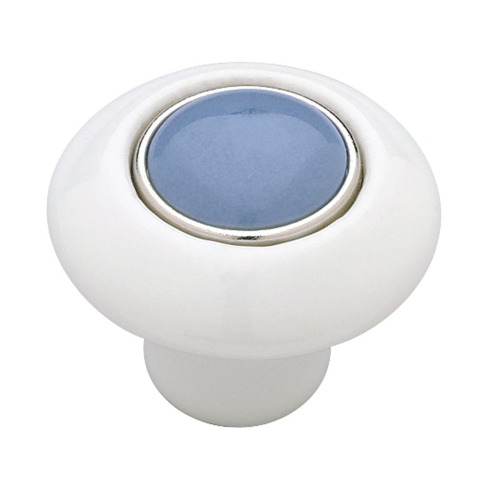 Liberty 1-1/2 in. Stoney Blue Cabinet Knob-DISCONTINUED