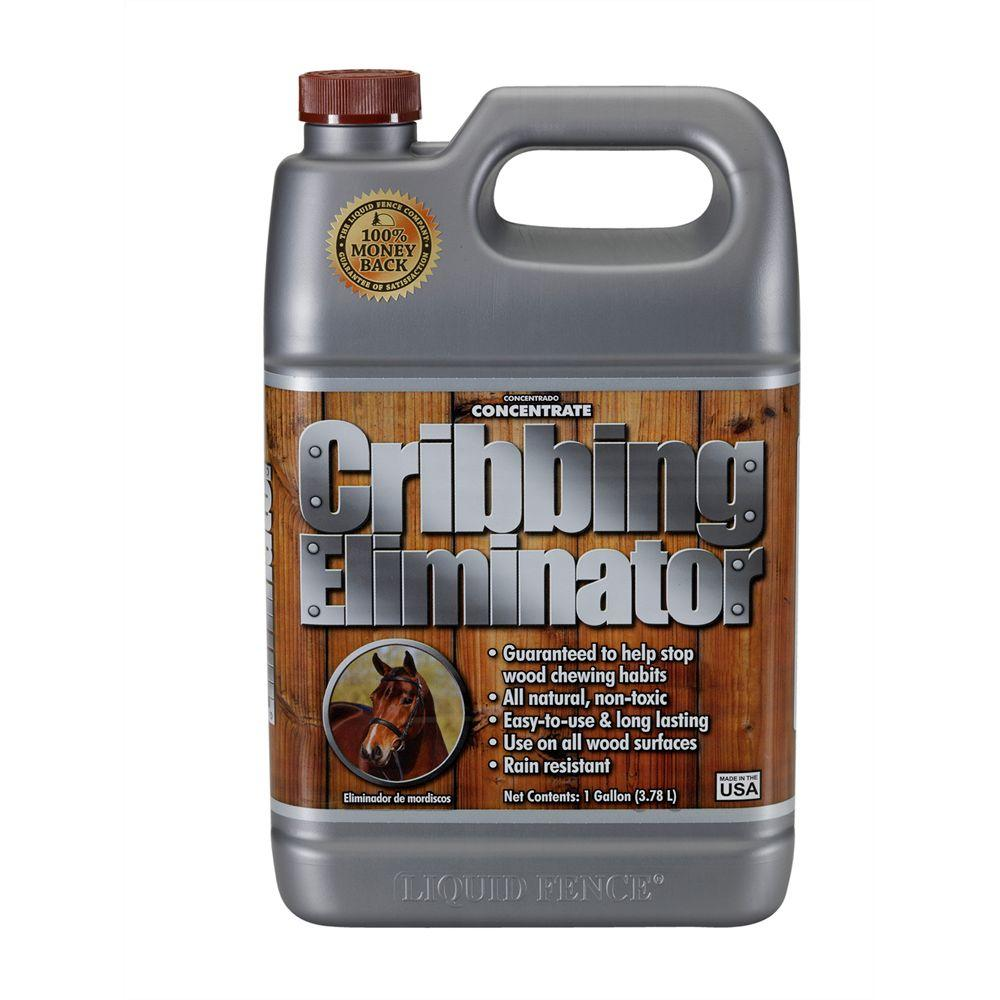 Liquid Fence 1 gal. Concentrate Cribbing Eliminator-DISCONTINUED