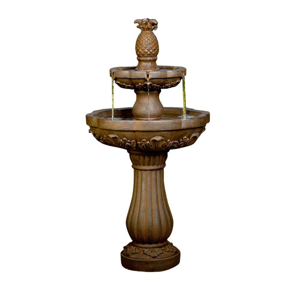Classic Pineapple Outdoor/Indoor Water Fountain