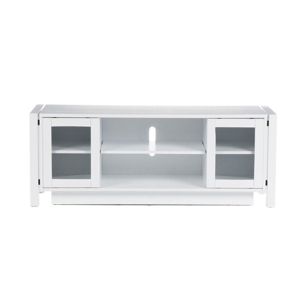 Home Decorators Collection White TV Stand/Media Console-DISCONTINUED