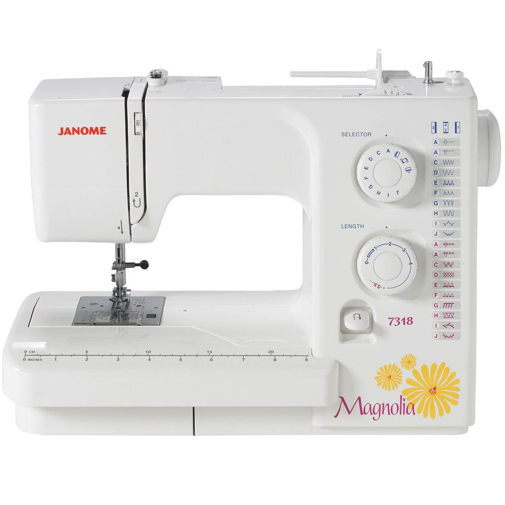 how to plan kitchen lighting janome 18 stitch magnolia sewing machine 7318 the home depot 7318