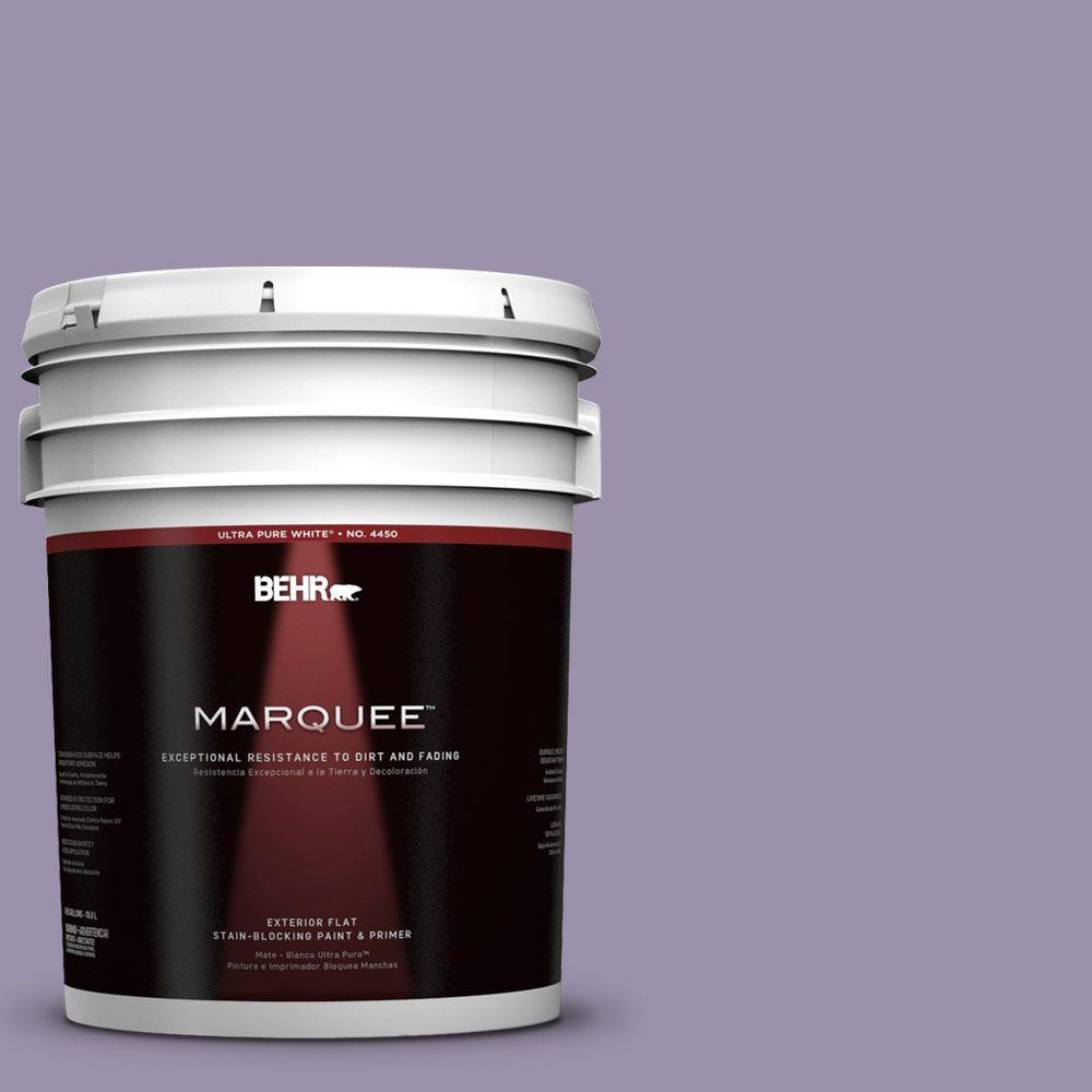 BEHR MARQUEE 5-gal. #650F-4 Delectable Flat Exterior Paint