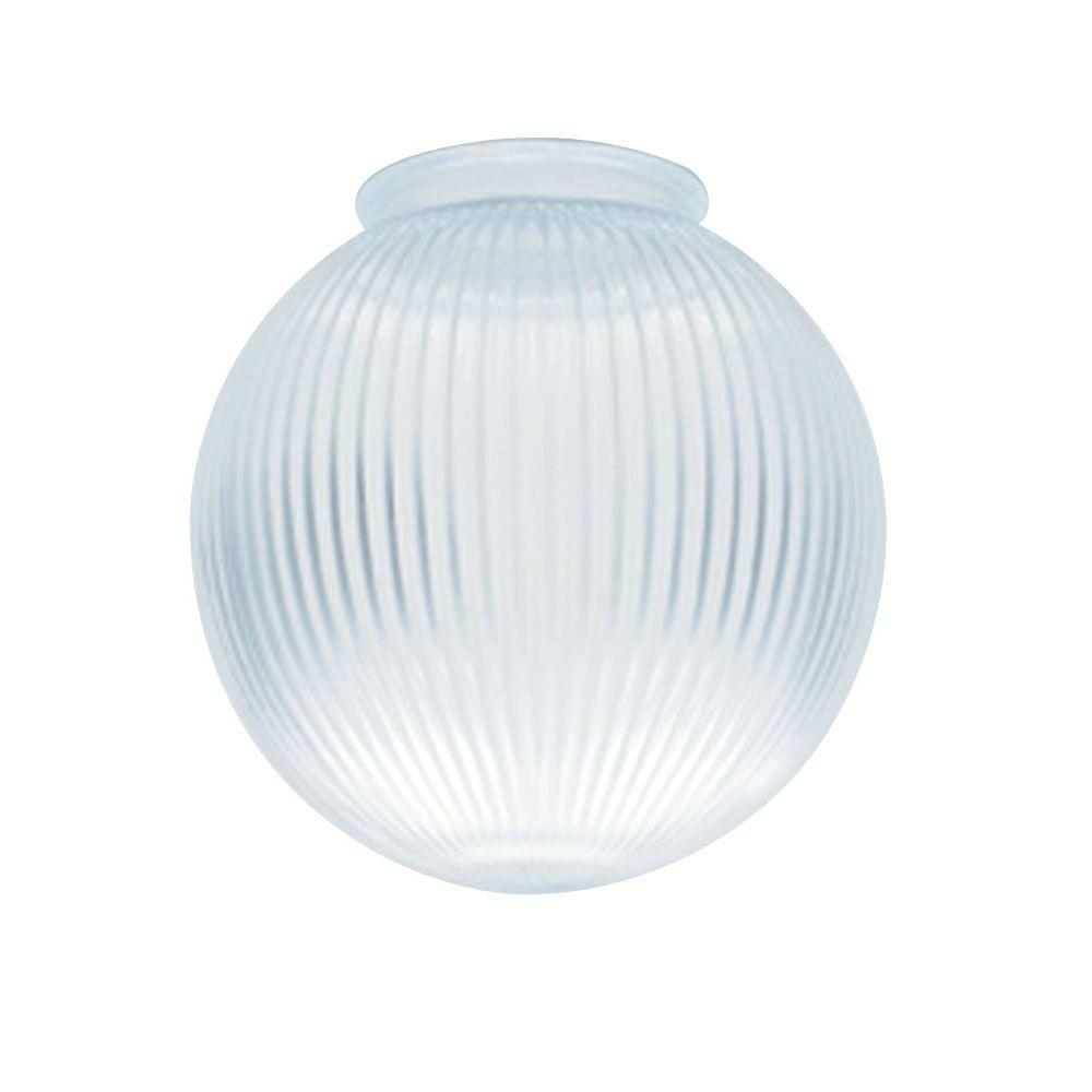 Westinghouse 6-3/8 in. Clear Prismatic Globe with 3-1/4 in. Fitter