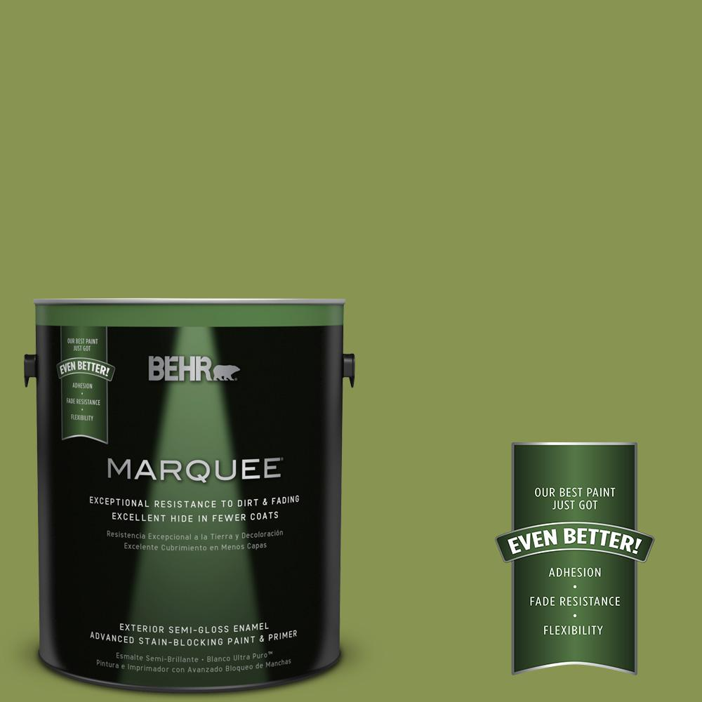 BEHR MARQUEE 1-gal. #M350-6 Frog Semi-Gloss Enamel Exterior Paint