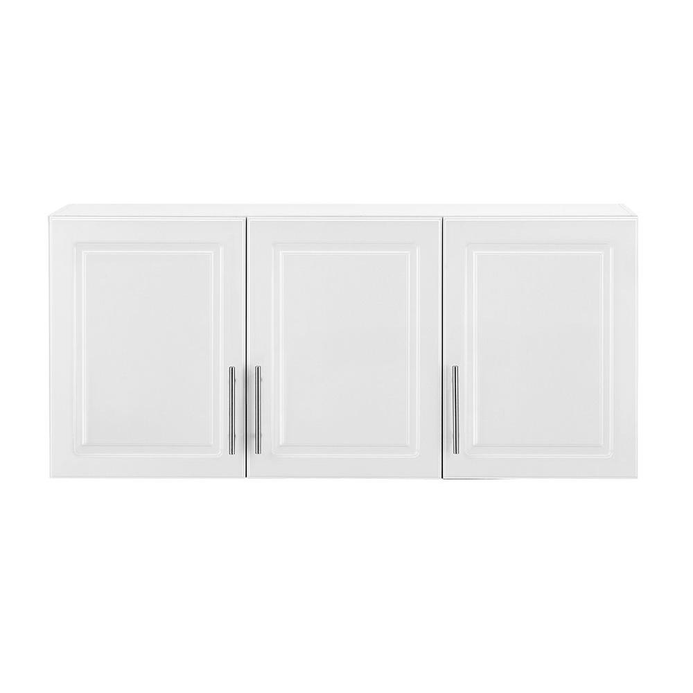 Select MDF 3-Door Wall Cabinet in White