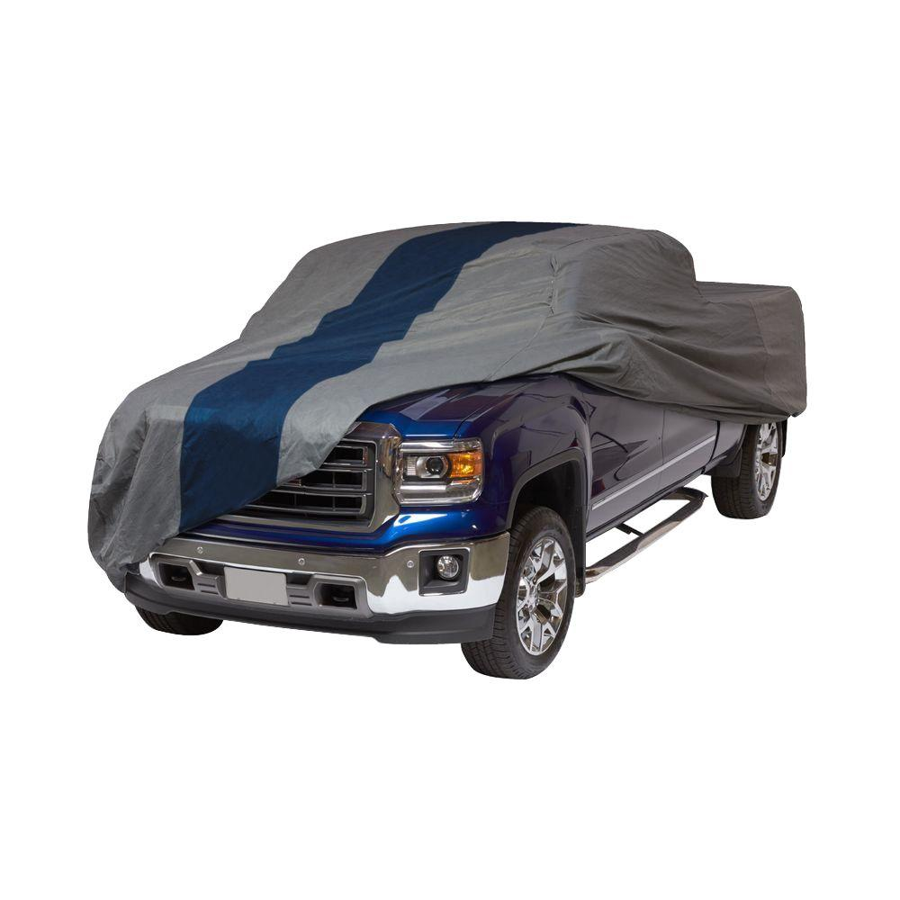 Double Defender Extended Cab Standard Bed Semi-Custom Pickup Truck Cover Fits