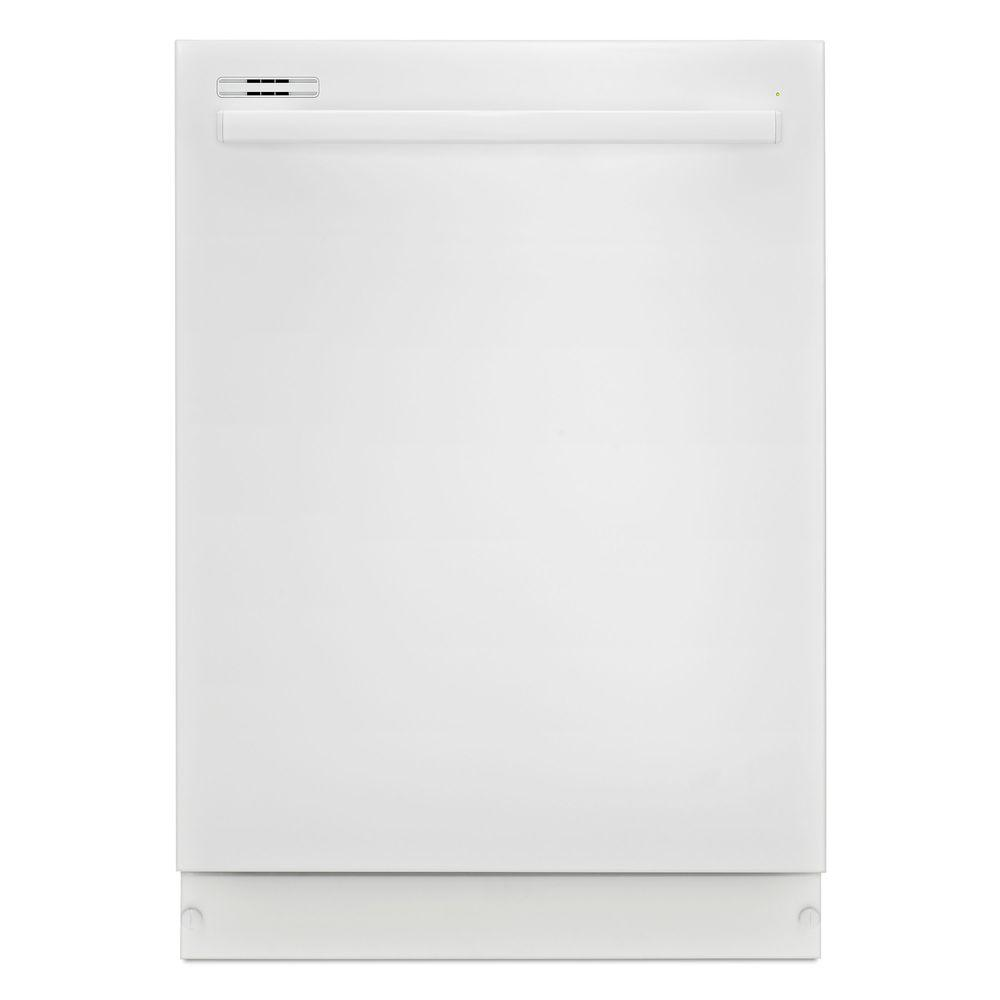 24 in. Top Control Dishwasher in White