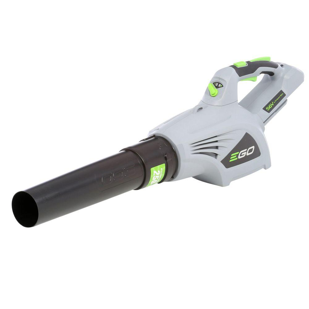 480 CFM 3-Speed Turbo 56-Volt Lithium-Ion Cordless Electric Blower - Battery