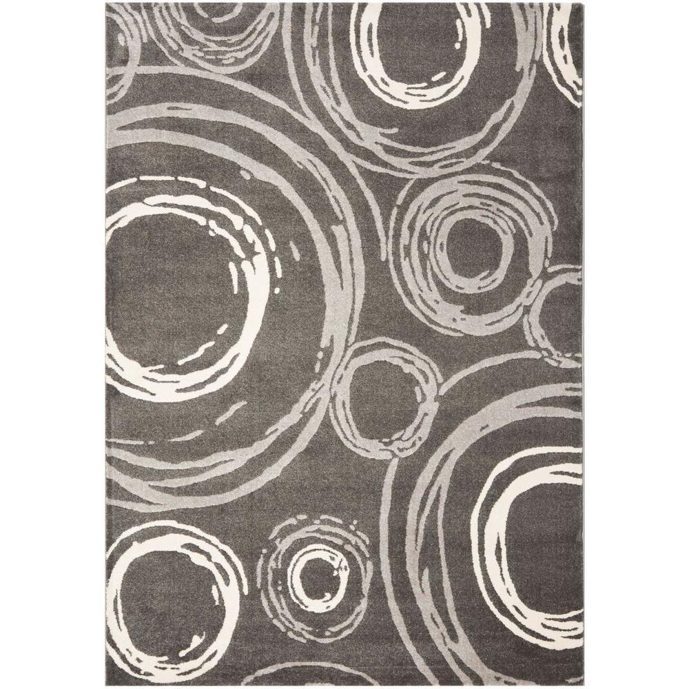 Porcello Dark Grey 4 ft. x 5 ft. 7 in. Area