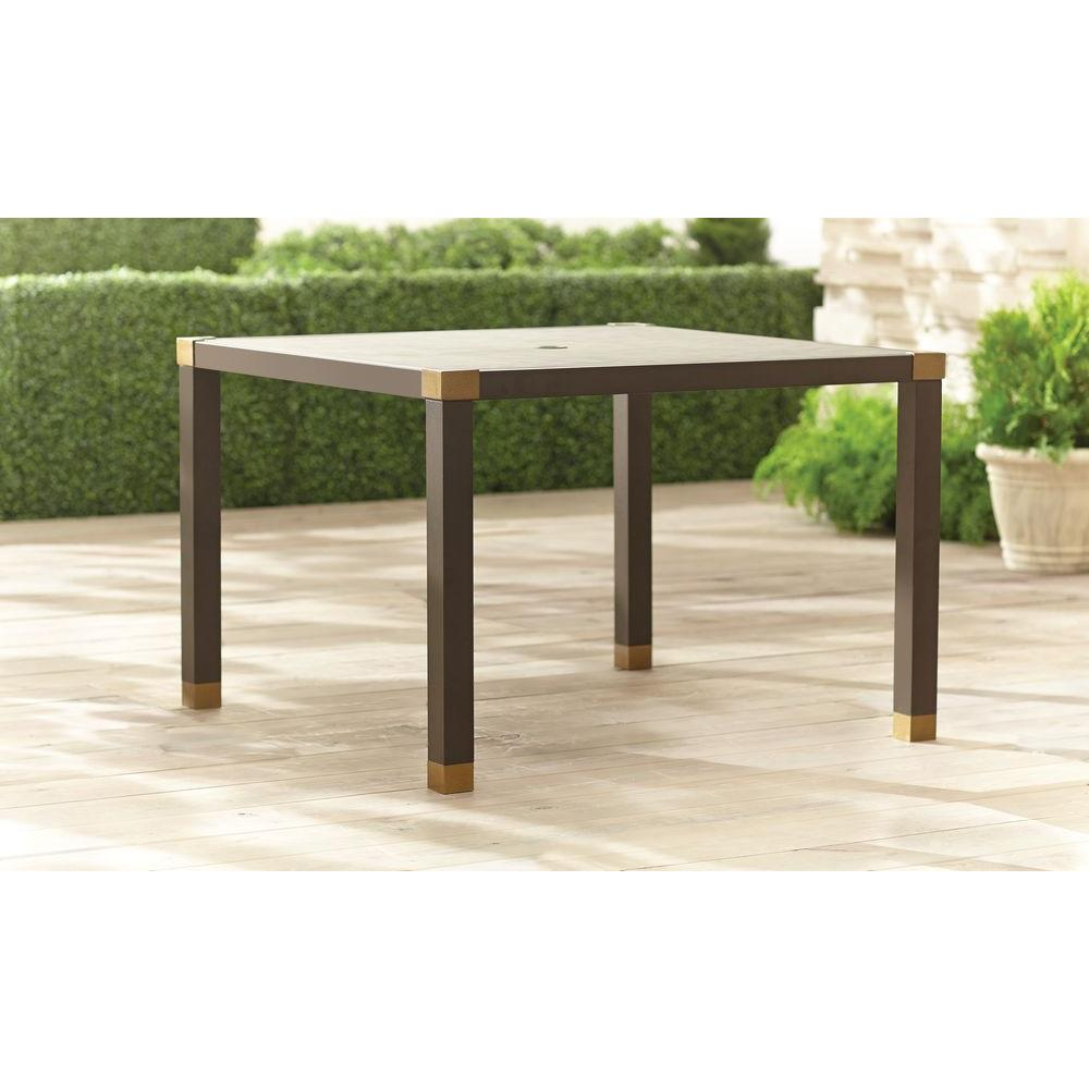 Brown Jordan Form 42 in. Square Patio Dining Table -- STOCK-DY11114-TQ