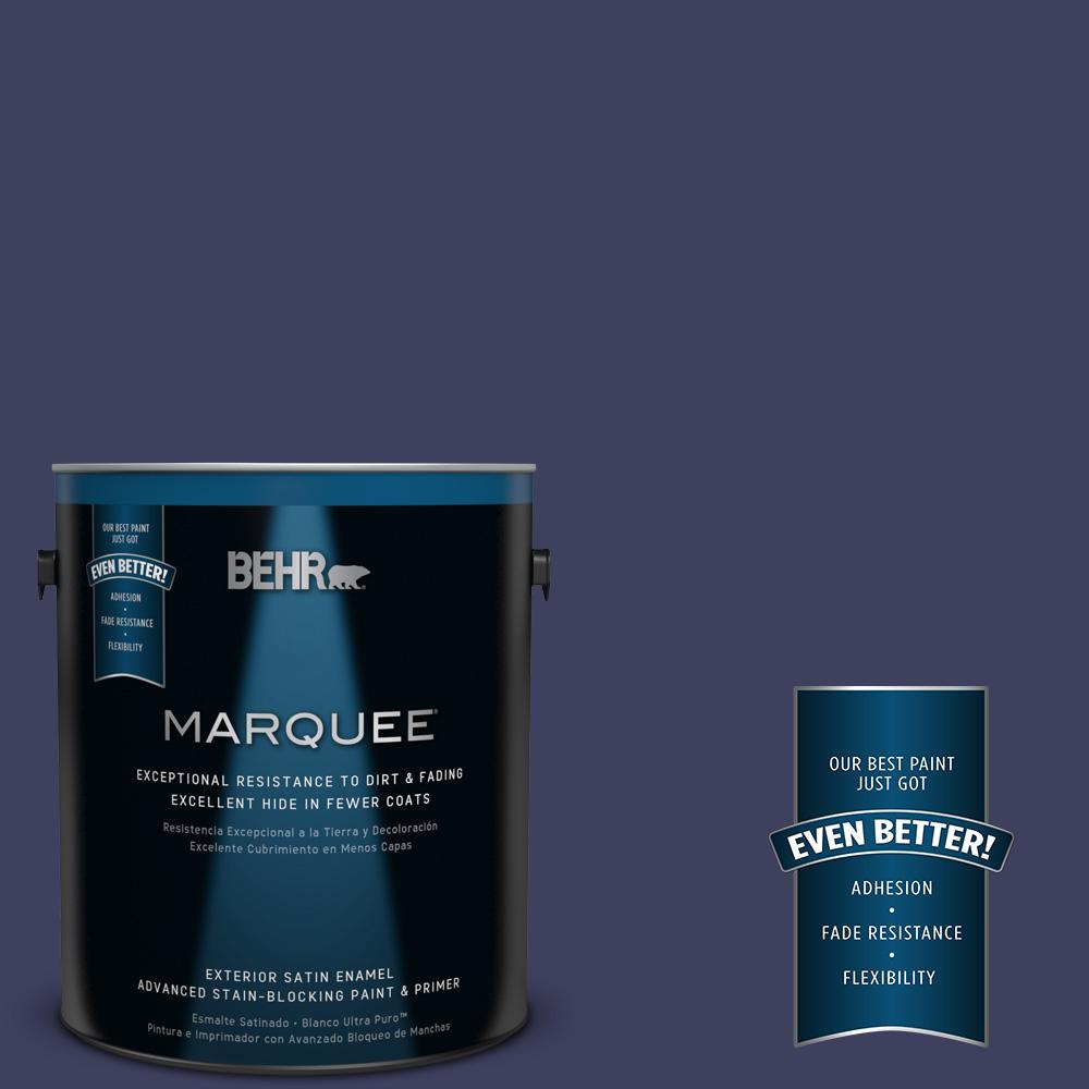 Home Decorators Collection 1 Gal. #HDC MD 01 Majestic Blue Satin