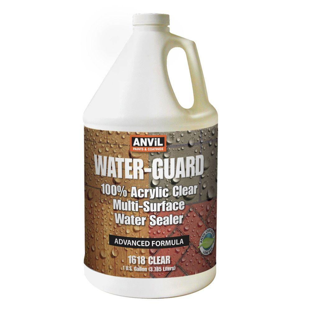 ANViL Water-Guard 1 gal. Multi-Surface Water Sealer-161801 - The Home Depot
