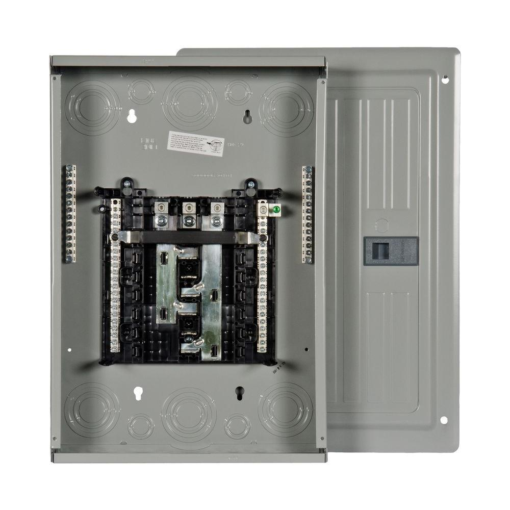 PL Series 125 Amp 12-Space 24-Circuit Main Lug Indoor 3-Phase Load