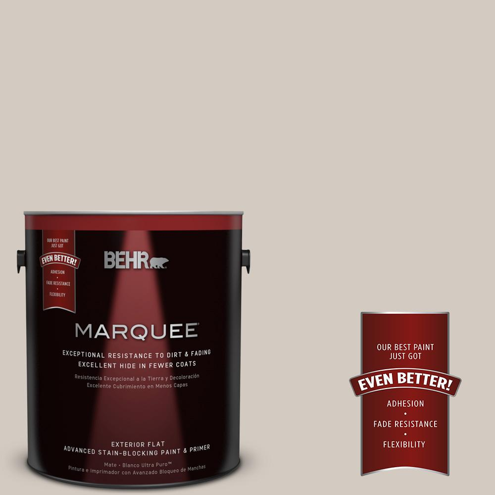 1-gal. #N320-2 Toasty Gray Flat Exterior Paint