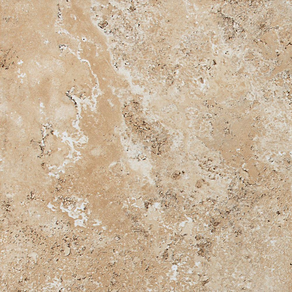 Daltile Palatina Temple Beige 12 in. x 12 in. Glazed Porcelain Floor and Wall Tile (10.55 sq. ft. / case)