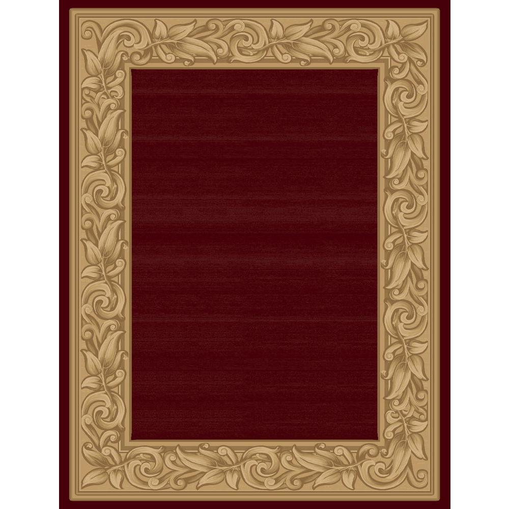 Balta US Elegant Embrace Red 9 ft. 2 in. x 12 ft. 5 in. Area Rug