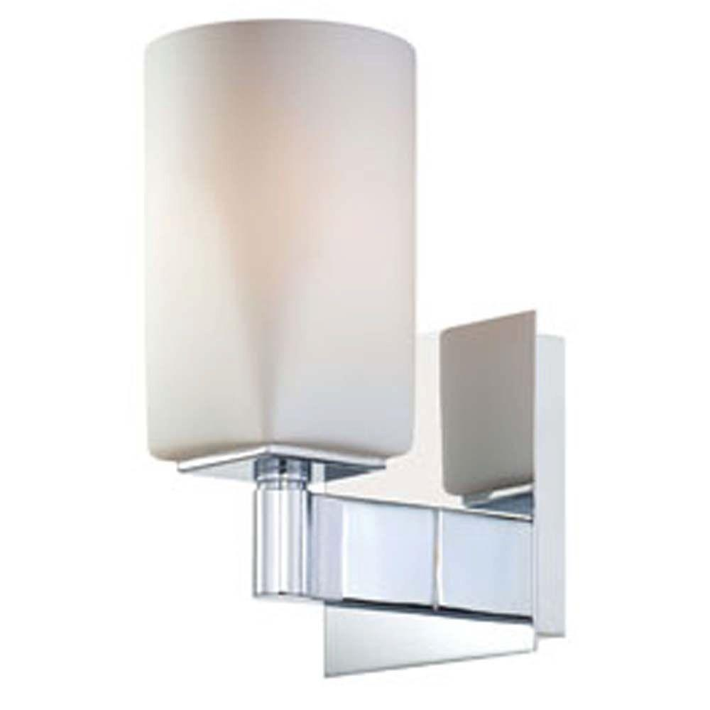 Filament Design Spectra 1-Light Chrome Incandescent Wall Vanity