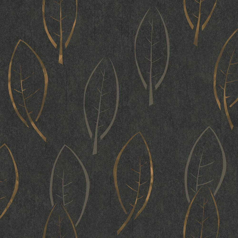 The wallpaper company 8 in x 10 in black large scale for Modern wallpaper samples