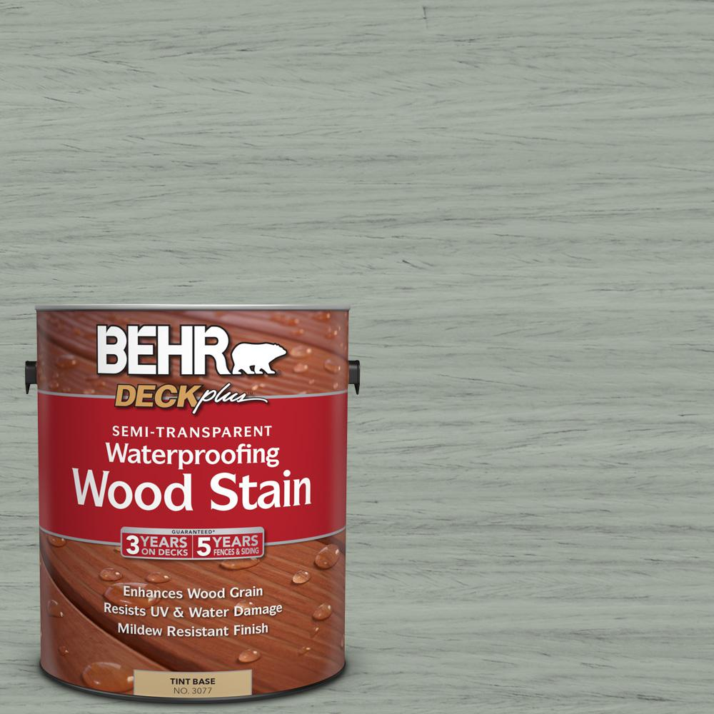 1-gal. #ST-149 Light Lead Semi-Transparent Waterproofing Wood Stain