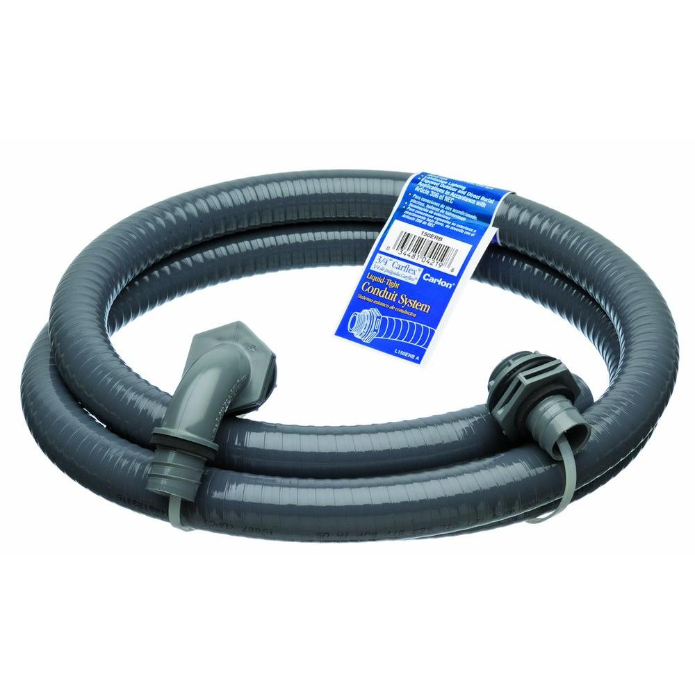 3/4 in. x 6 ft. Liquitight Conduit Kit (6-Pack)