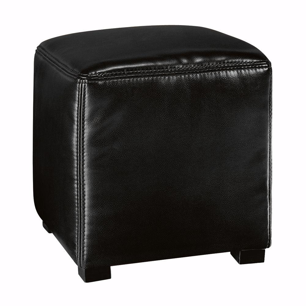 Home Decorators Collection Tracie Black Accent Ottoman