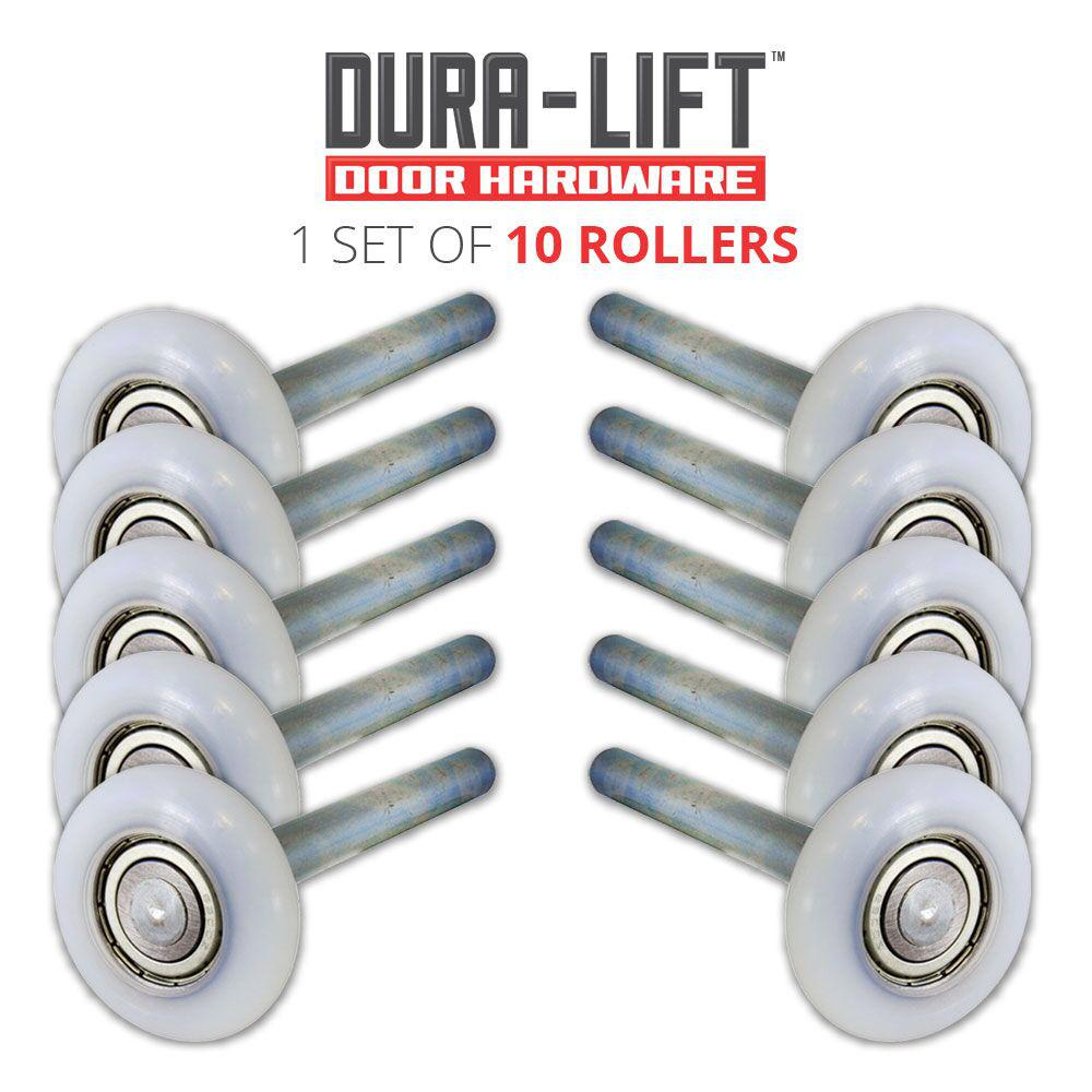 Ultra-Life 2 in. Nylon Garage Door Roller with Reinforced Bearing and