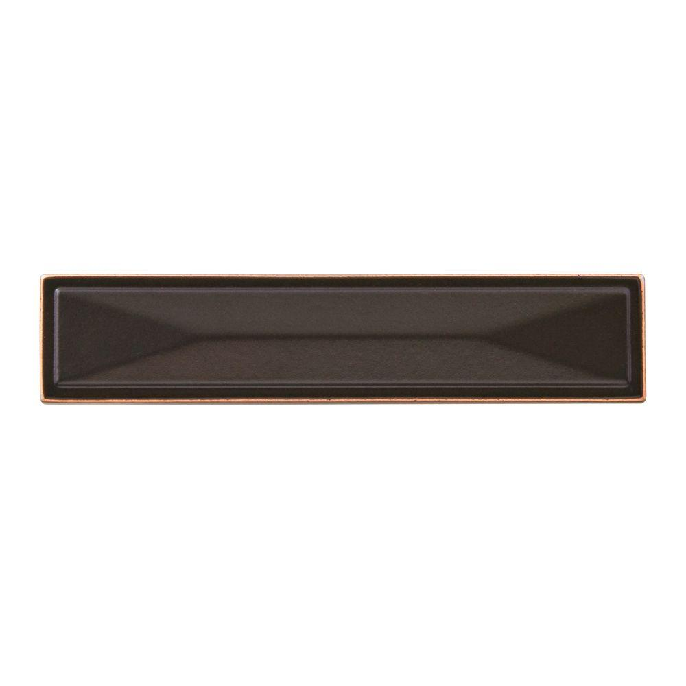 Symmetry 3 in. Rectangle Oil-Rubbed Bronze Pull