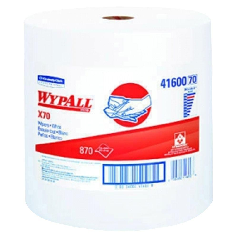 WYPALL X70 White Perforated Wipers Jumbo Roll (870-Roll)-KCC 41600 - The