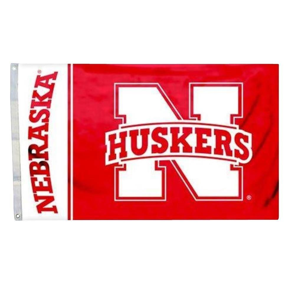 Annin Flagmakers 3 ft. x 5 ft. Polyester Nebraska Huskers Flag