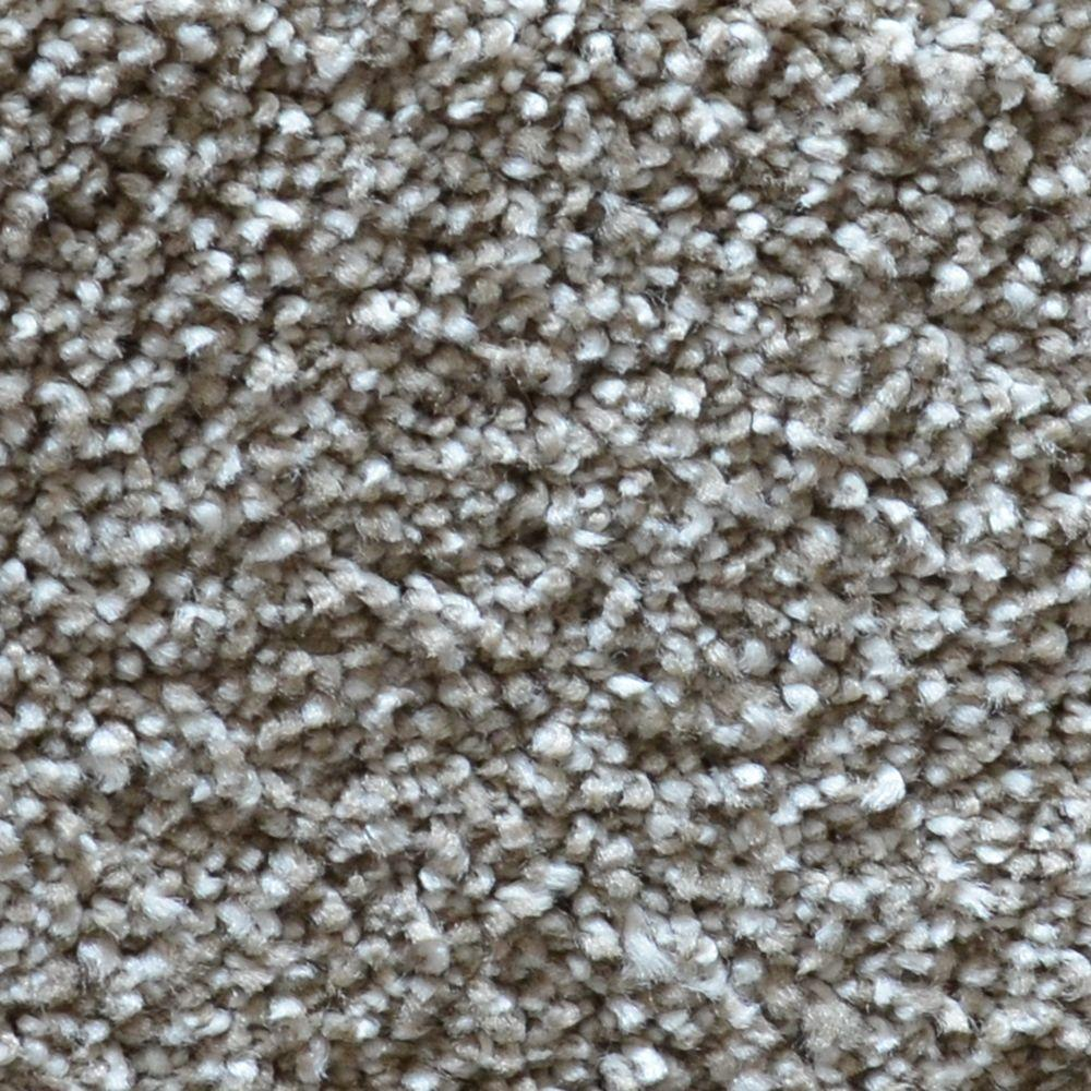 Refined Manner II - Color Quincy Texture 12 ft. Carpet