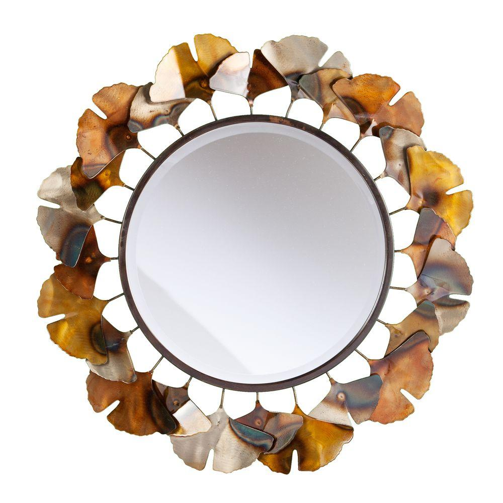 Phyliss 29.25 in. H Metallic Mirror