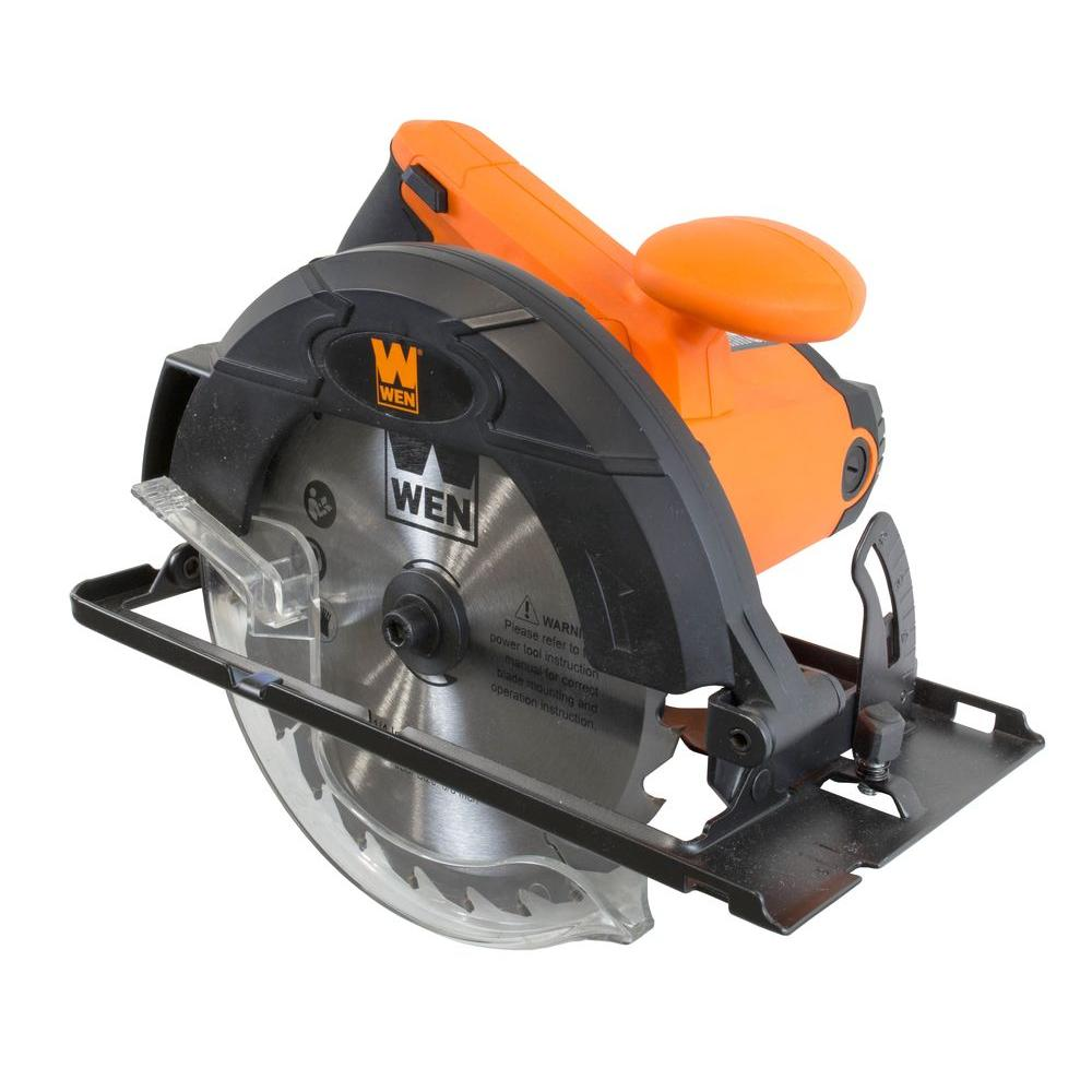 WEN 12 Amp 7-1/4 in. Sidewinder Circular Saw-3614 - The Home