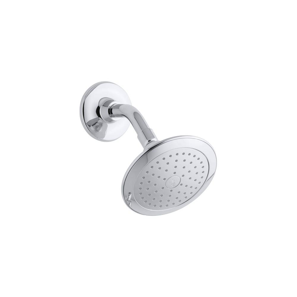Alteo Single Function Katalyst Showerhead in Polished Chrome