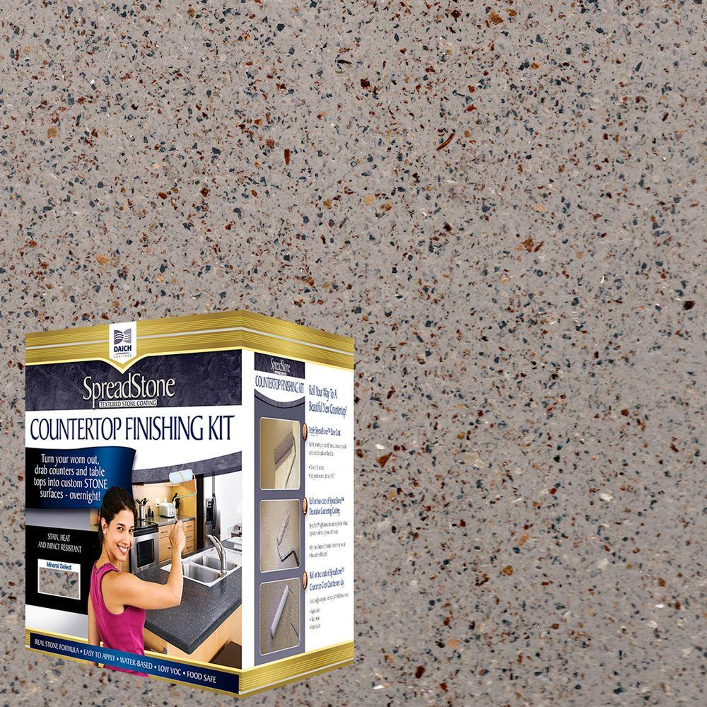Mineral Select 1 qt. Mantle Stone Countertop Refinishing Kit (4-Count)
