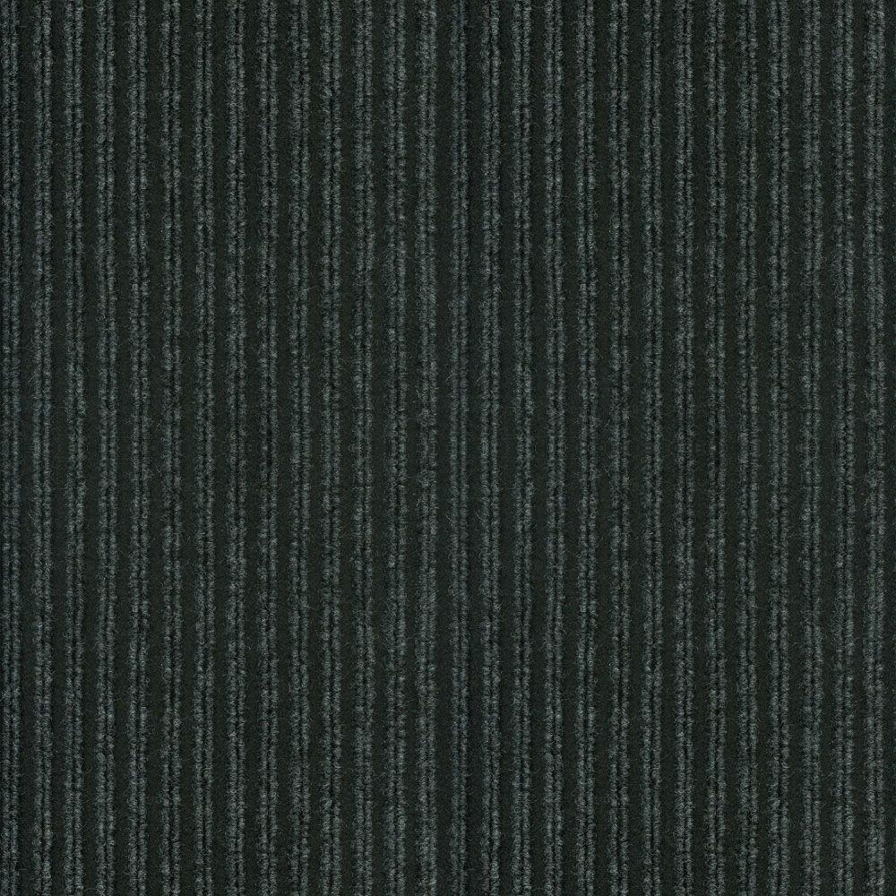 TrafficMASTER Corduroy Granite/Black 18 in. x 18 in. Carpet Tiles (16 Tiles/Case)-DISCONTINUED