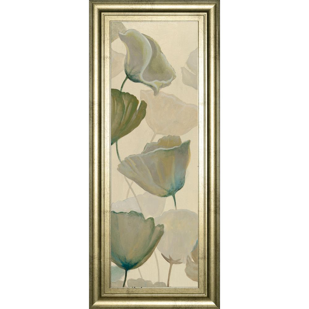 "18 in. x 42 in. ""Poppy Impression Panel 1"" by George"